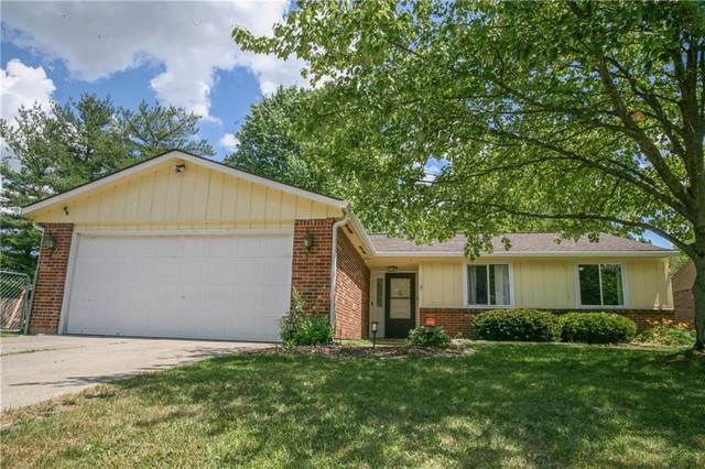 4115 Hollow Creek Drive, Indianapolis, IN 46268 (MLS #21721380) :: Anthony Robinson & AMR Real Estate Group LLC