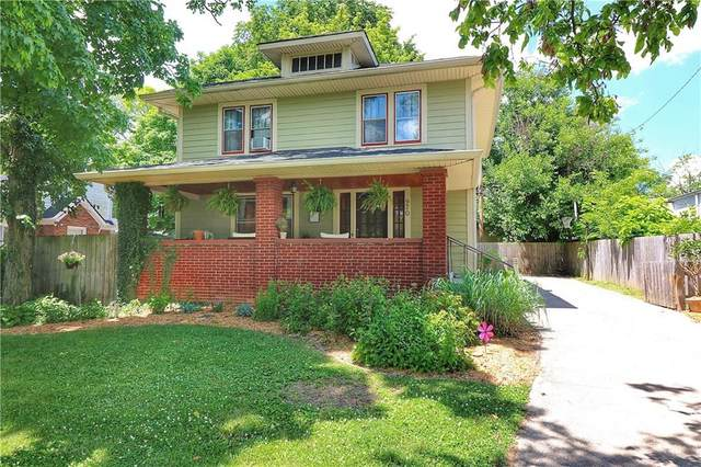970 N Arlington Avenue, Indianapolis, IN 46219 (MLS #21721394) :: Anthony Robinson & AMR Real Estate Group LLC
