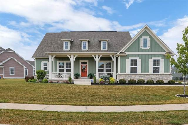 3500 Shady Lake Drive, Westfield, IN 46074 (MLS #21721558) :: The Indy Property Source