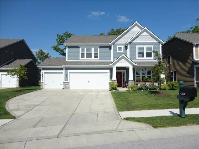 4269 Nottinghill Drive, Avon, IN 46123 (MLS #21721596) :: The Evelo Team