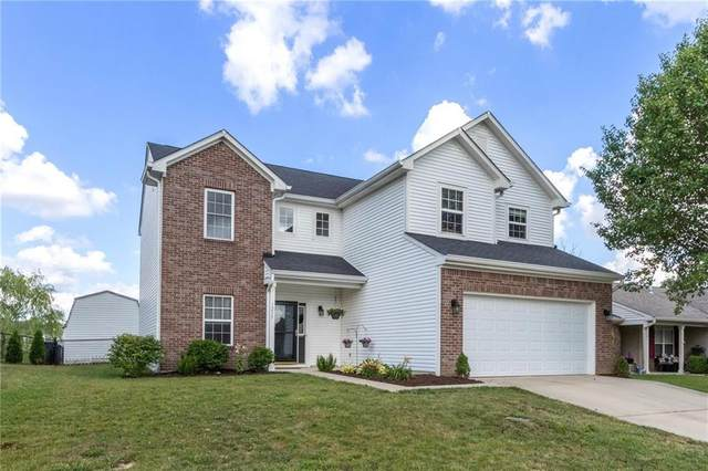 1235 Yellowstone Way, Franklin, IN 46131 (MLS #21721658) :: The Indy Property Source