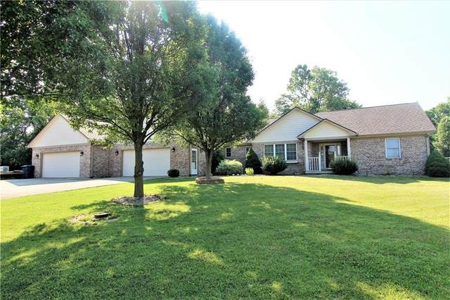 3585 Marie Court, Monrovia, IN 46157 (MLS #21721659) :: Mike Price Realty Team - RE/MAX Centerstone