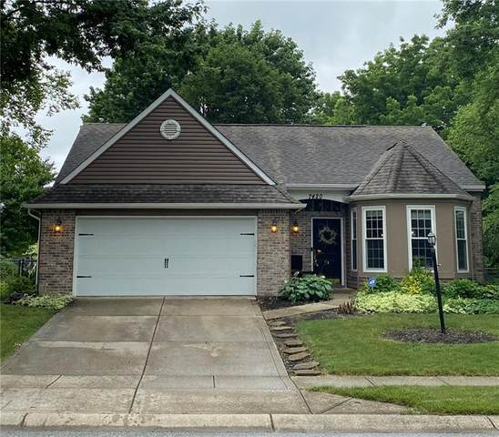7420 Tarragon Place, Indianapolis, IN 46237 (MLS #21721709) :: The Indy Property Source