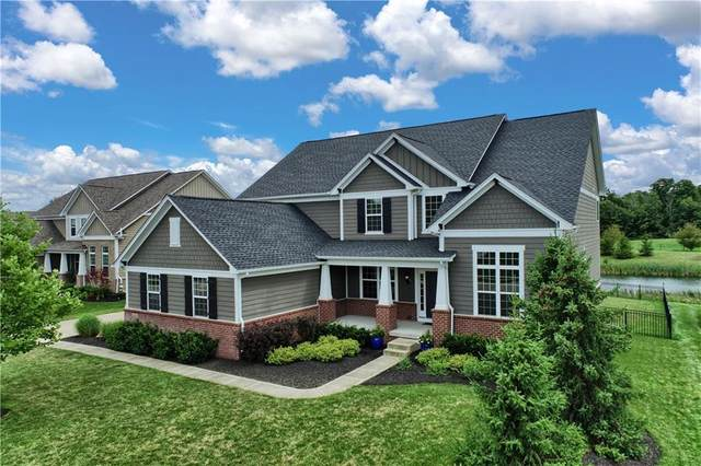 4125 Brown Farm Drive, Carmel, IN 46074 (MLS #21721714) :: AR/haus Group Realty