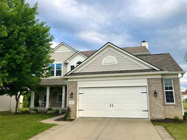 557 Lynton Way, Westfield, IN 46074 (MLS #21721736) :: The Indy Property Source