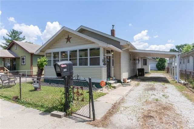 1735 Dawson Street, Indianapolis, IN 46203 (MLS #21721776) :: The Evelo Team
