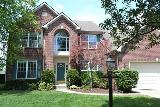 8358 Bent Oak Circle, Indianapolis, IN 46236 (MLS #21721974) :: Anthony Robinson & AMR Real Estate Group LLC