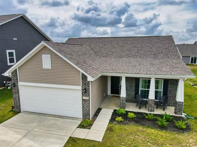 1354 W Wyndstone Way, Fortville, IN 46040 (MLS #21722046) :: Anthony Robinson & AMR Real Estate Group LLC