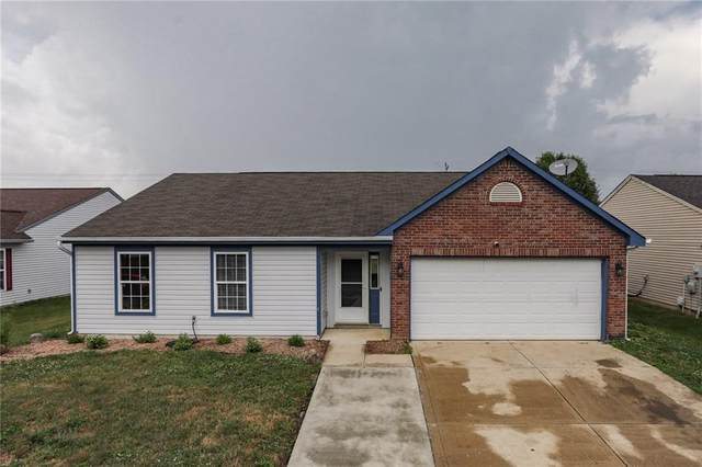 1170 Grassy Creek Circle, Franklin, IN 46131 (MLS #21722063) :: The Indy Property Source