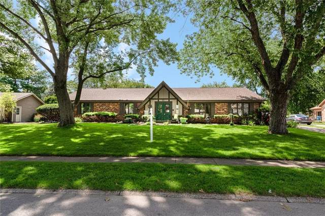 4529 Brookshire Parkway, Carmel, IN 46033 (MLS #21722111) :: The Evelo Team