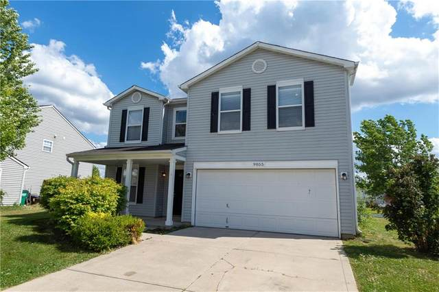 9855 Big Bend Drive, Indianapolis, IN 46234 (MLS #21722209) :: Anthony Robinson & AMR Real Estate Group LLC