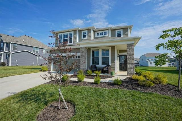 15414 Forest Glade Drive, Fishers, IN 46037 (MLS #21722315) :: The Indy Property Source