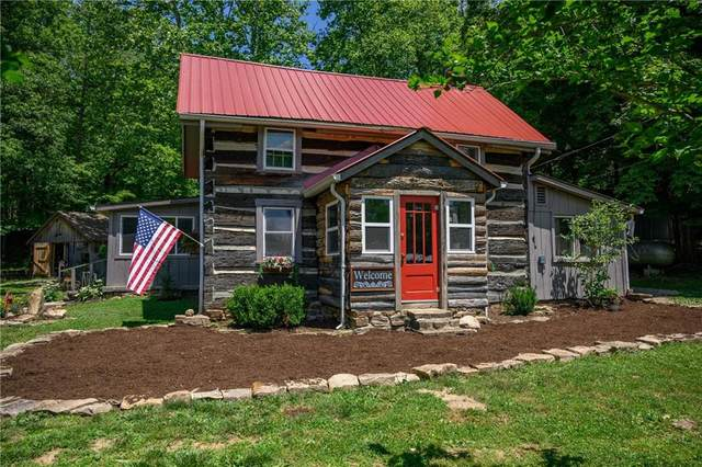 997 Mount Liberty Road, Nashville, IN 47448 (MLS #21722336) :: The Indy Property Source