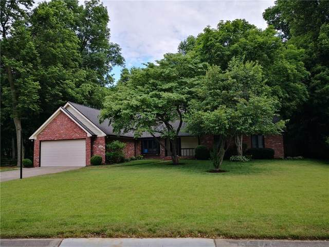 4164 W Crooked Lane, Greenwood, IN 46143 (MLS #21722346) :: The Indy Property Source