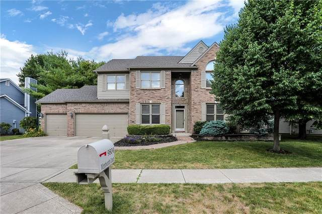 9804 Wentworth Court, Carmel, IN 46032 (MLS #21722353) :: The Indy Property Source
