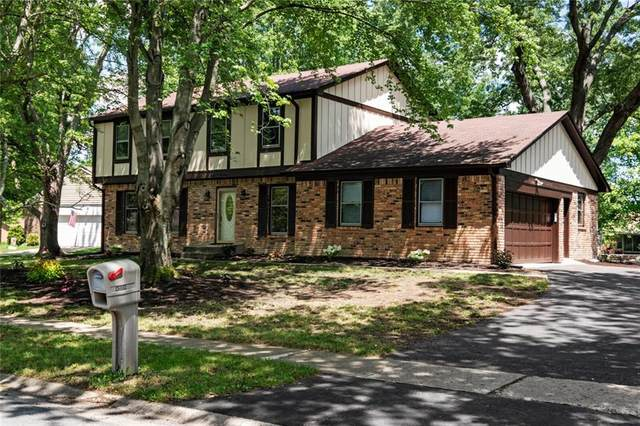8319 Scarsdale West Drive, Indianapolis, IN 46256 (MLS #21722409) :: Heard Real Estate Team | eXp Realty, LLC