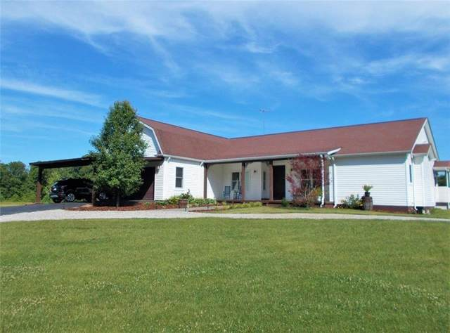1940 W County Road 300 N, North Vernon, IN 47265 (MLS #21722414) :: The Indy Property Source