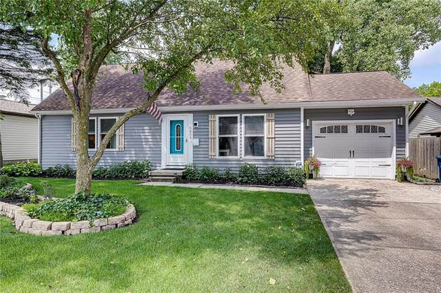 5606 N Rural Street, Indianapolis, IN 46220 (MLS #21722595) :: The Indy Property Source