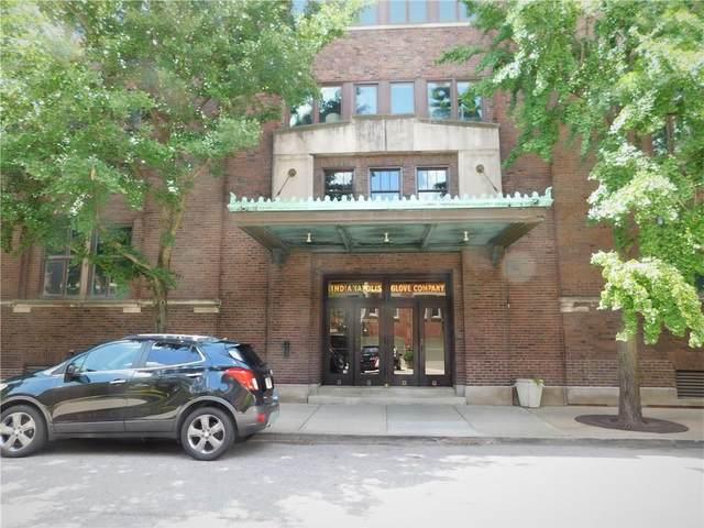 430 N Park Avenue #109, Indianapolis, IN 46202 (MLS #21722743) :: David Brenton's Team