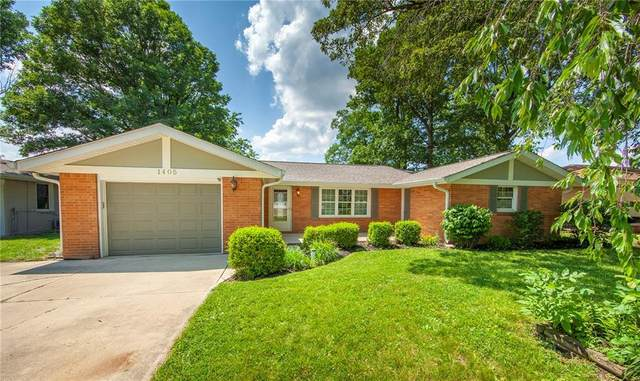 1405 Evelyn Lane, Anderson, IN 46017 (MLS #21722754) :: AR/haus Group Realty