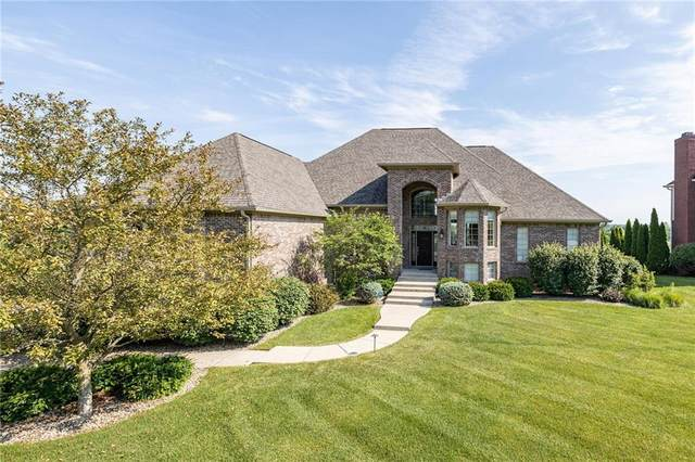 13856 Waterway Boulevard, Fishers, IN 46040 (MLS #21722776) :: Anthony Robinson & AMR Real Estate Group LLC