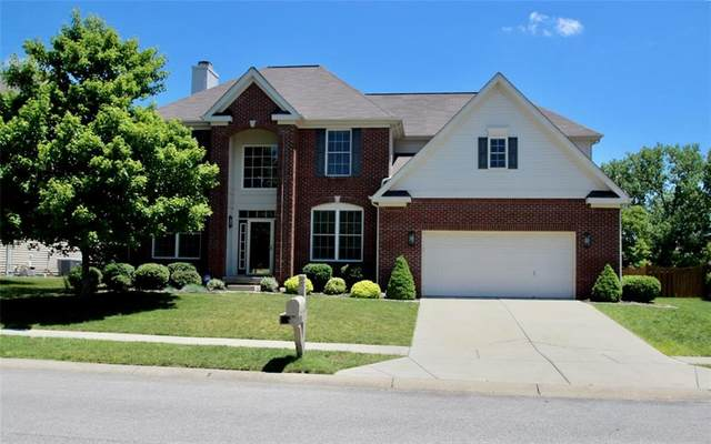 7553 Woodington Place, Indianapolis, IN 46259 (MLS #21722842) :: Richwine Elite Group