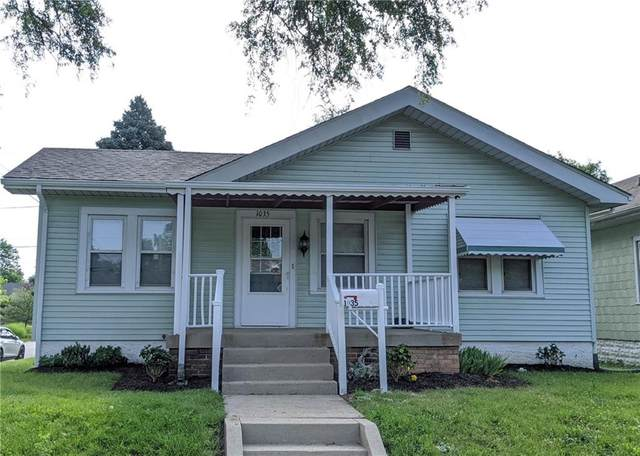 1035 N Euclid Avenue, Indianapolis, IN 46201 (MLS #21722884) :: Richwine Elite Group