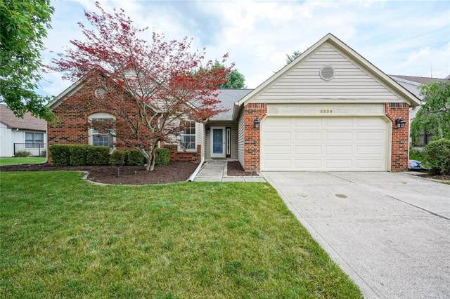 3330 Crickwood Drive, Indianapolis, IN 46268 (MLS #21722891) :: Anthony Robinson & AMR Real Estate Group LLC
