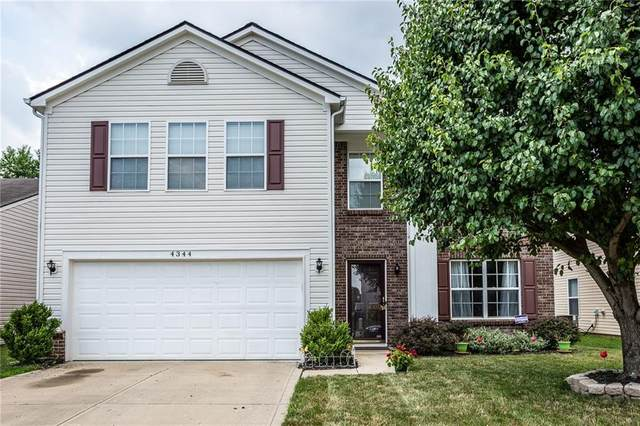 4344 Bellchime Drive, Indianapolis, IN 46235 (MLS #21722957) :: Richwine Elite Group