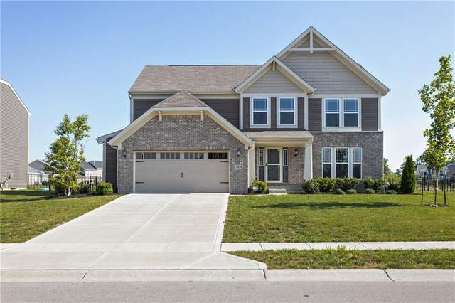 8454 Brookhaven Lane, Avon, IN 46123 (MLS #21722969) :: The Indy Property Source