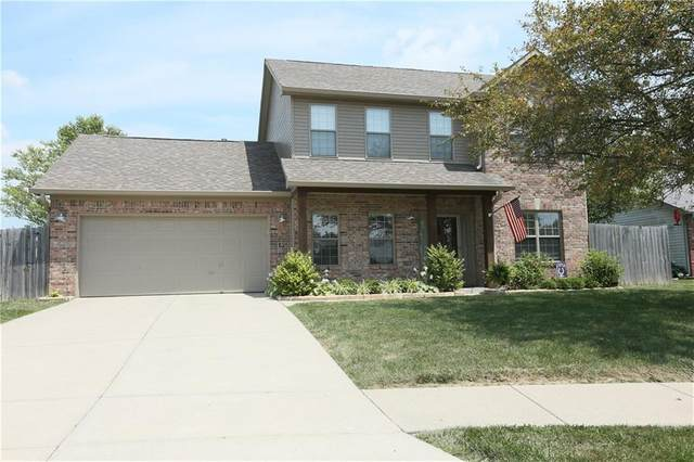 111 Dunn Drive, Trafalgar, IN 46181 (MLS #21722981) :: Richwine Elite Group