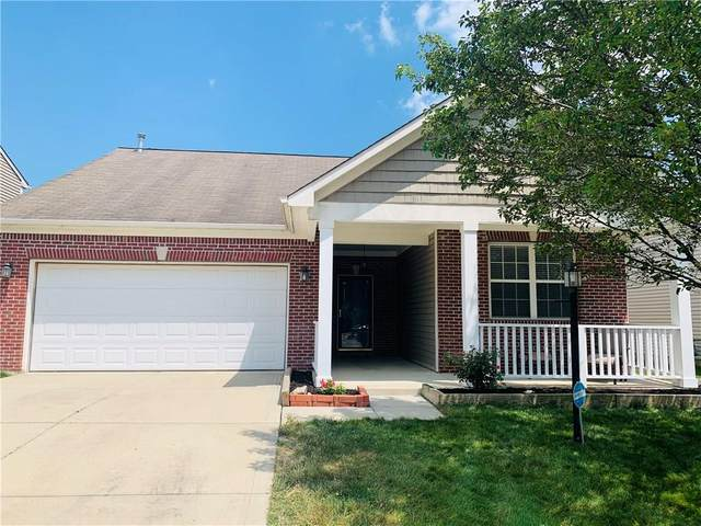 12357 Berry Patch Lane, Fishers, IN 46037 (MLS #21722996) :: Mike Price Realty Team - RE/MAX Centerstone