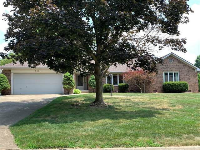 157 Lake Drive, Greenwood, IN 46142 (MLS #21723010) :: The Indy Property Source