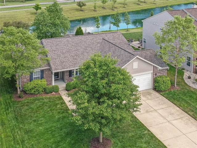 12831 Touchdown Drive, Fishers, IN 46037 (MLS #21723053) :: The Indy Property Source