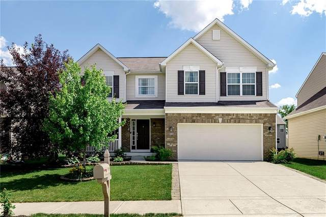 11855 Bellhaven Drive, Fishers, IN 46038 (MLS #21723074) :: The Indy Property Source
