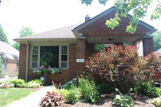 1453 N Leland Avenue, Indianapolis, IN 46219 (MLS #21723106) :: The Indy Property Source