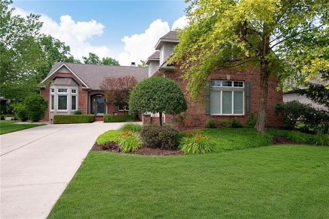 9775 Colonial Drive, Carmel, IN 46032 (MLS #21723118) :: Anthony Robinson & AMR Real Estate Group LLC