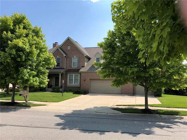11763 Floral Hall Place, Fishers, IN 46037 (MLS #21723172) :: The Indy Property Source