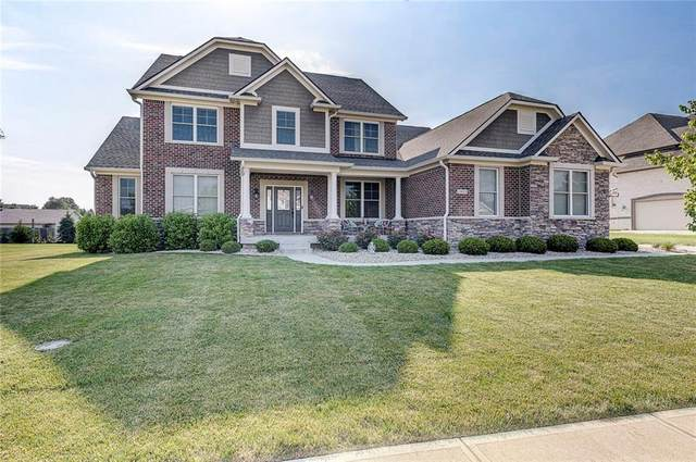 11653 Gladstone Court, Fishers, IN 46037 (MLS #21723193) :: AR/haus Group Realty