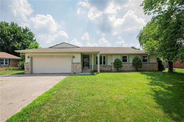 1243 Stonegate Road, Greenwood, IN 46142 (MLS #21723197) :: Anthony Robinson & AMR Real Estate Group LLC