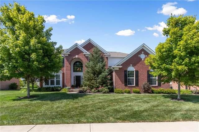 13264 Talon Crest Drive, Fishers, IN 46037 (MLS #21723210) :: The Indy Property Source