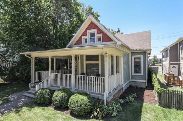 2260 N Pennsylvania Street, Indianapolis, IN 46205 (MLS #21723239) :: Mike Price Realty Team - RE/MAX Centerstone