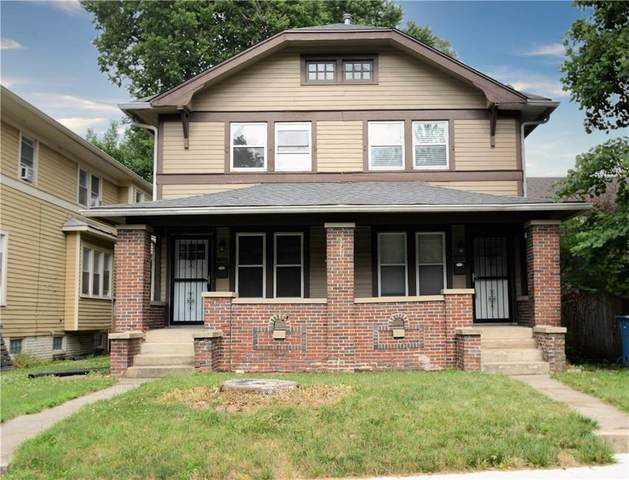 4809 N College Avenue N #2, Indianapolis, IN 46205 (MLS #21723242) :: The Indy Property Source