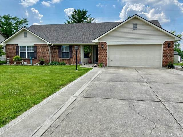 1053 Pin Oak Drive, Mooresville, IN 46158 (MLS #21723302) :: The Evelo Team