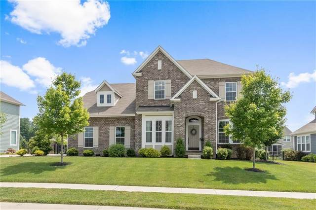 6018 Stroup Drive, Noblesville, IN 46062 (MLS #21723470) :: The Evelo Team