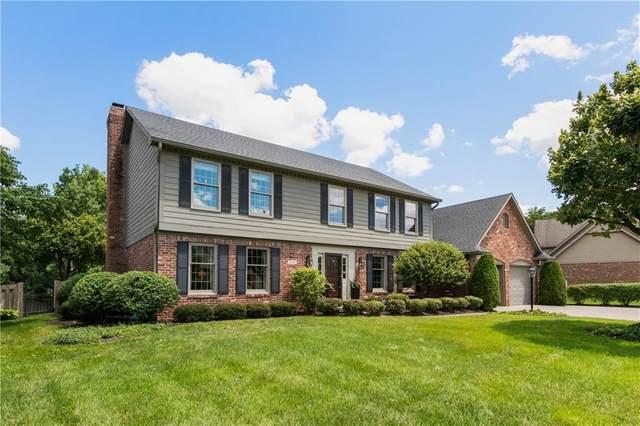5128 Huntington Drive, Carmel, IN 46033 (MLS #21723557) :: Anthony Robinson & AMR Real Estate Group LLC