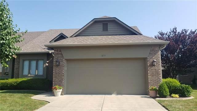 674 Cottage Lane, Greenwood, IN 46143 (MLS #21723564) :: Anthony Robinson & AMR Real Estate Group LLC