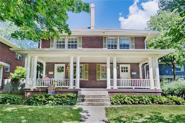 4227 N Broadway Street, Indianapolis, IN 46205 (MLS #21723574) :: Mike Price Realty Team - RE/MAX Centerstone