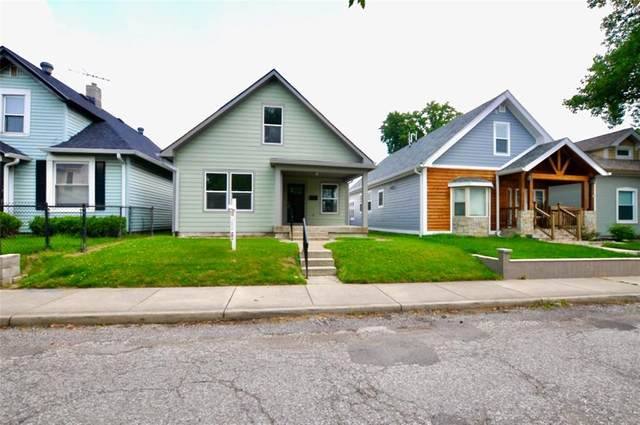 708 Cottage Avenue, Indianapolis, IN 46203 (MLS #21723586) :: The Evelo Team