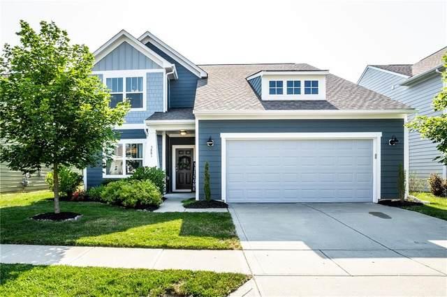 5881 Aldridge Drive, Whitestown, IN 46075 (MLS #21723742) :: Anthony Robinson & AMR Real Estate Group LLC